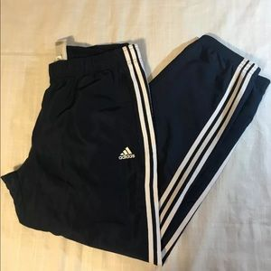 adidas Pants - ADIDAS THREE STRIPE MEN'S TRACK WARM UP PANT L